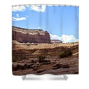 The View Hotel - Monument Valley - Arizona Shower Curtain