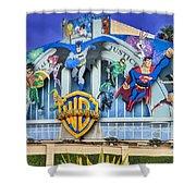 Warner Bros. Entertainment Inc. Shower Curtain