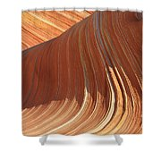 The Wave In The North Coyote Buttes Shower Curtain
