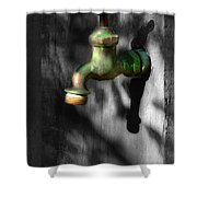 The Years Have Gone Shower Curtain
