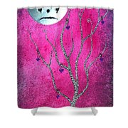 The Zebra Effect 3 Shower Curtain by Oddball Art Co by Lizzy Love