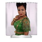 Thongsok Sovan Shower Curtain