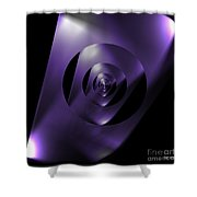 Through The Looking Glass Shower Curtain by Luther Fine Art