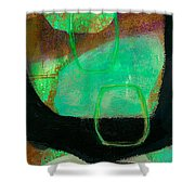 Tidal Current 1 Shower Curtain