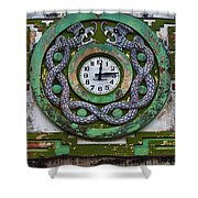 Time Shower Curtain by Skip Hunt