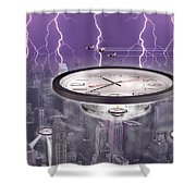 Time Travelers Shower Curtain by Mike McGlothlen