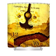 Time Worn Shower Curtain