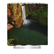 Toketee Falls - Oregon Shower Curtain