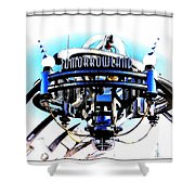 Tomorrowland Shower Curtain