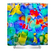 Touch/respond Shower Curtain