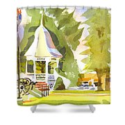 Town Square Shower Curtain