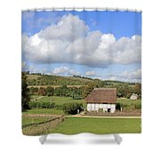 Traditional Cottage Sussex Uk Shower Curtain