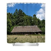 Traditional Polish Cottage House Shower Curtain