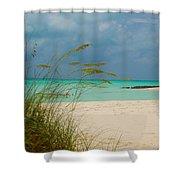 Treasure Cay Shower Curtain