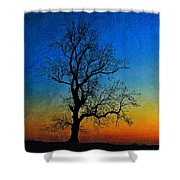 Tree Skeleton Shower Curtain