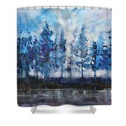 Tree's Shower Curtain