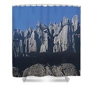 Tsingy De Bemaraha Madagascar Shower Curtain