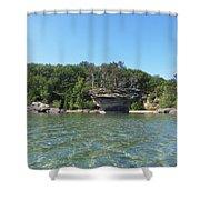 Turnip Rock Shower Curtain
