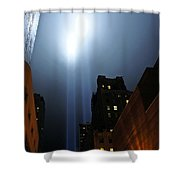 Twin Beams I Shower Curtain