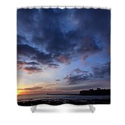 Tynemouth Sunrise Shower Curtain