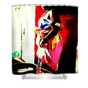 Ugunda Fish Lady Shower Curtain