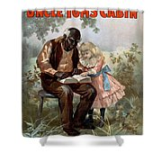 Uncle Toms Cabin, C1899 Shower Curtain