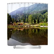 Vail Reflections Shower Curtain