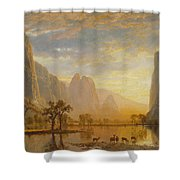 Valley Of The Yosemite Shower Curtain