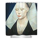 Van Der Weyden's Portrait Of A Lady Shower Curtain