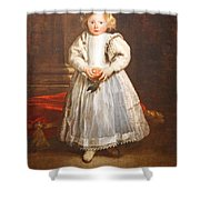Van Dyck's Maddalena Cattaneo Shower Curtain
