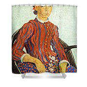 Van Gogh's La Mousme Shower Curtain