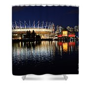 Vancouver British Columbia 3 Shower Curtain