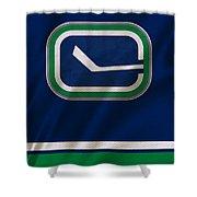 Vancouver Canucks Uniform Shower Curtain