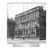 Vanderbilt Mansion Shower Curtain