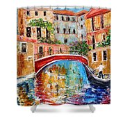 Venice Magic Shower Curtain