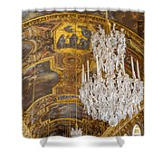 Versailles Ceiling Shower Curtain
