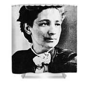 Victoria Claflin Woodhull (1838-1927) Shower Curtain