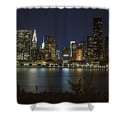 View From Gantry Plaza State Park Shower Curtain