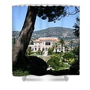 Villa Ephrussi De Rothschild Shower Curtain