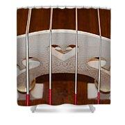Violoncello Shower Curtain
