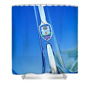 Volkswagen Vw Emblem Shower Curtain