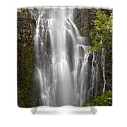 Wailua Falls II Shower Curtain
