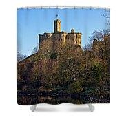 Warkworth Castle Shower Curtain