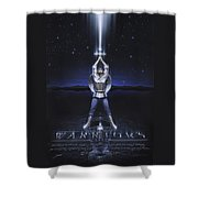 Warriors Creed Shower Curtain by Cliff Hawley