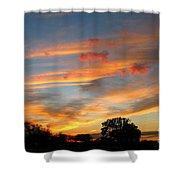 Evening Washington Monument Shower Curtain