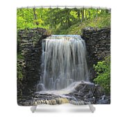 Water Fall Moore State Park Shower Curtain