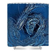 Water Rose Shower Curtain