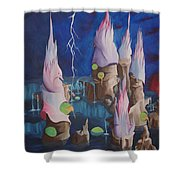 Water World Shower Curtain
