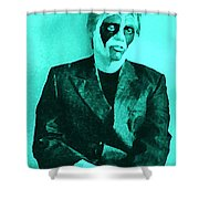 Whats The Point In Miming Shower Curtain