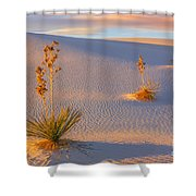 White Sands National Monument Shower Curtain